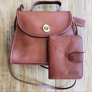 Vintage Coach Regina Purse w/Matching Wallet